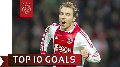 TOP 10 GOALS - Christian Eriksen