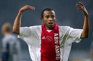 Wamberto als speler van Ajax