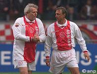 Piet Keizer en Johan Cruijff
