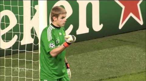 Wedstrijd van Toen Ajax - Dinamo Kiev