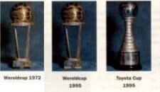 Intercontinental Cup 1972, Wereldbeker 1995 & Toyota Cup 1995