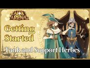 Getting Started- How to use Tank & Support Heroes -Tutorial- - AFK Arena