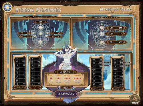 Albedo - Eternal Engravings Atributes' Values.PNG