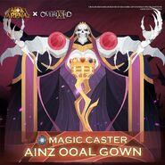Ainz Ooal Gown Social media first art