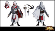 Ezio Model Sheet