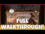 -AFK ARENA GUIDE- HighBurn Stronghold Full Walkthrough - Edited Battles!