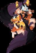 Celestial Twins Halloween Skin