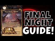 THE FINAL NIGHT - FAST GUIDE - VOYAGE OF WONDERS! -AFK ARENA GUIDE-
