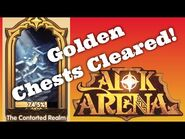 -AFK ARENA GUIDE- Peaks of Time - The Contorted Realm Path and Golden Chests Cleared