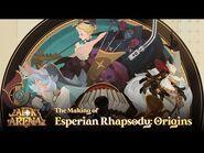 The Making of Esperian Rhapsody- Origins - Behind the Scenes - AFK Arena