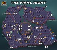 The Final Night Map