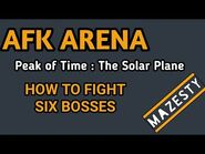 AFK Arena, Walkthough Peak of Time 12 - The Solar Plane