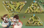 Lost in the Wild Map