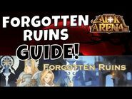 FORGOTTEN RUINS - VOYAGE OF WONDERS - FAST GUIDE! -AFK ARENA GUIDE-