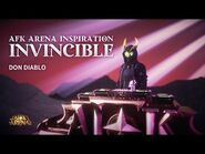 Invincible by Don Diablo - AFK Arena Inspirations