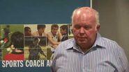 Bill Sweetenham - Coaching great assists education of national coaching scholarship holders