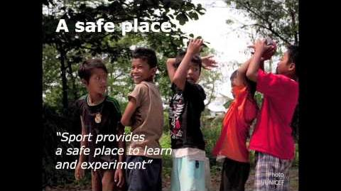 Sport provides a safe place to learn and experiment Guin Batten TEDxKCS
