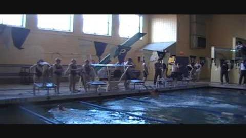 Perry HS swim meet, hosting Schenley in 2010