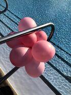 Pink-baloons-on-pool-railing
