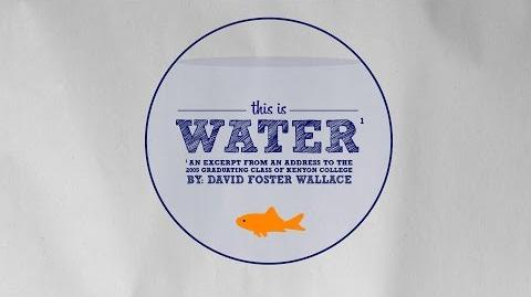 This is water (speech)