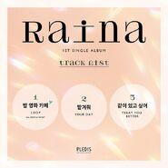 Raina-track-list