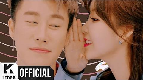 MV_San_E,_Raina(레이나)_Sugar_and_Me(달고나)