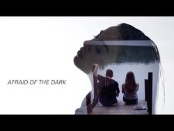 EZI - AFRAID OF THE DARK (Official Lyric Video For After We Collided)