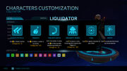 Liquidator help screen