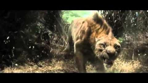 After Earth Movie Clip-Bird vs lion