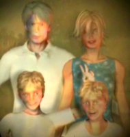 Glenn Wilkins' family photo.