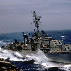 Allen M. Sumner class destroyer