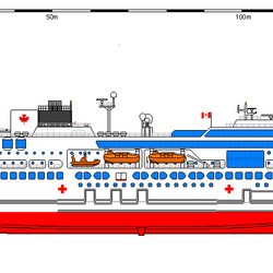 Spirit class hospital ship