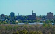 Brandon, Manitoba skyline