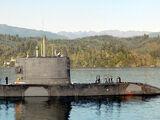 Upholder class submarine