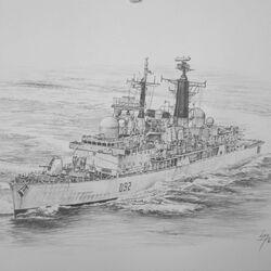 Type 42 Destroyer