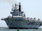 Invincible class aircraft carrier