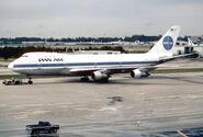 Pan Am Boeing 747-121; N733PA@MIA; February 1987 BQR (5553295904)