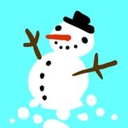 Agario snowman