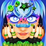 Merchant electronic girl