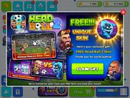 Head Ball 2 - Free! Unique Skin - Claim Gift (HQB)