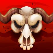 May merchant v1 bull skull