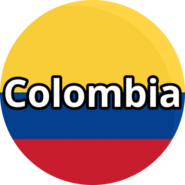 Colombia - Circled