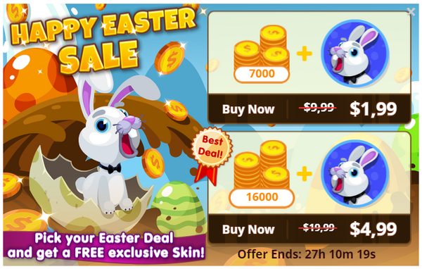 Happy Easter Sale - Item Deal