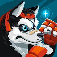 Beast fighters husky