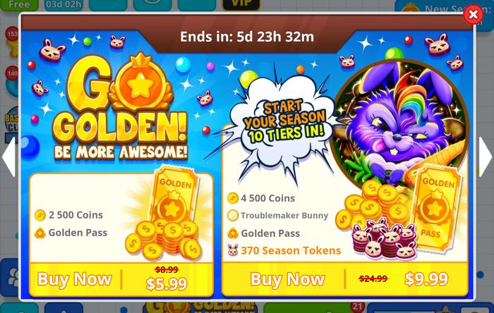 Go Golden - Offer