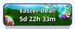 Easter Deal! Button