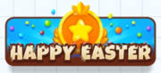 Happy Easter - Button