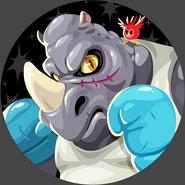 Beast fighters rhino