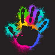 Rainbow slap