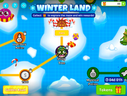 Winter-land-shiny-tree-on-the-map
